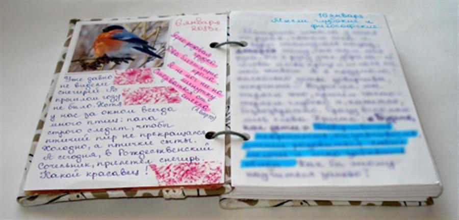 Как вести свой дневник для девочек